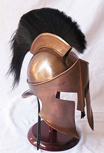 Halloween Leonidas Kostüm - Shiv Shakti Enterprises Medieval King Leonidas Greek 300 Spartan Armour Helmet Halloween Costume Movie Role Play by Shiv Shakti Enterprises