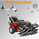 Tielbürger-Barredora TK38Pro Invierno del paquete incluye cepillo de nieve Pala de nieve invierno eifen