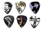 Bob Dylan Set of 6 Loose Médiators Picks ( Collection B )