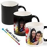 Color Changing Magic Photo Mug - Customize with Your Photos & Text
