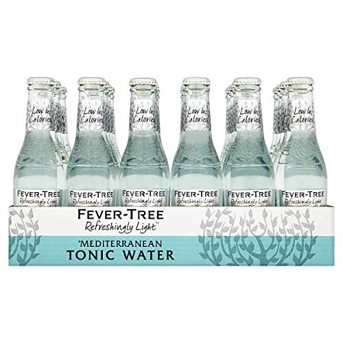 fever tree mediterranean tonic Fever-Tree Refreshingly Light Mediterranean Tonic Water 24x200ml