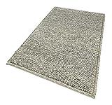 Schurwollteppich 'Seebu Loop', stein meliert, Größe:120 cm x 180 cm, in weiteren Farben und Größen erhältlich