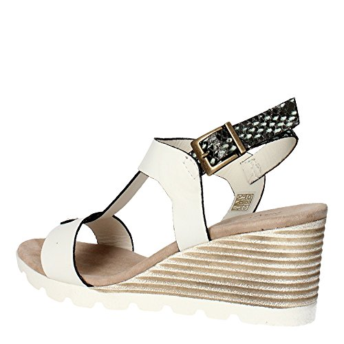 Pregunta PQ547788R Sandale Femme Blanc