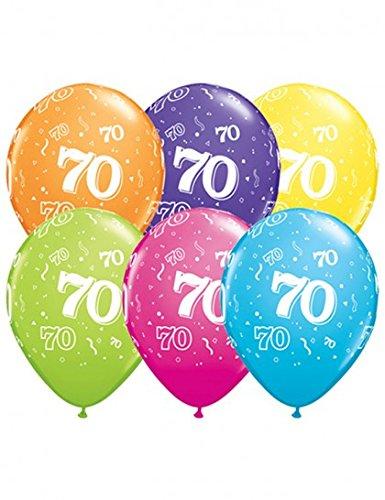 ballons-anniversaire-70-ans-x6