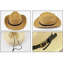 Cappello per Cappelli Cappello Cowboy Hat Western Paglia per Casual Moderna  Bambini Cappello Estivo con Cappello 451883d2be14