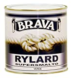 Brava Rylard Supersmalto per Nautica, Verde, 750 ml