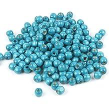 Sonderposten Dunkelblau Resin rund Spacer Perlen Beads Evil Eye Böse Auge 10mm