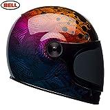 Bell 7092569 Casco per Moto, Special Edition Hart Luckgr Metallic Bubbles, Taglia M