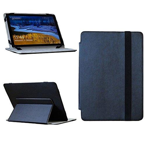 NAUC Denver TAQ-10182 Tablet Tasche Cover Schutz Hülle Schutzhülle Stand Case Schwarz