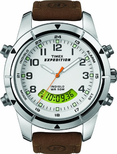 Timex Expedition Chronograph White Dial Unisex Watch - T49828