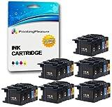 30 Tintenpatronen kompatibel zu LC1280XL für Brother MFC-J5910DW MFC-J6510DW MFC-J6710D MFC-J6710DW MFC-J6910DW - Schwarz/Cyan/Magenta/Gelb, hohe Kapazität