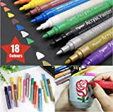 Best US Art Supply Kids Markers - Acrylic Paint Marker Pens - Permanent Medium Tip Review