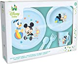 Ciao 33540 – Set Teller Mickey Mouse Baby, Hellblau