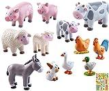 Haba Little Friends Bauernhoftiere im Set 12-teilig inkl.Geschenkverpackung