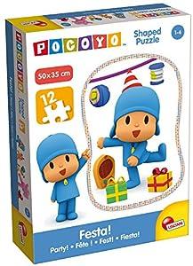 Lisciani Giochi 65974.0-Pocoyo Puzzle Recorte-Festa