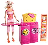Mattel T7182 Barbie Spin to Clean Laundr...