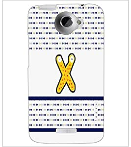 PrintDhaba GRANDbet X D-5835 Back Case Cover for HTC ONE X (Multi-Coloured)