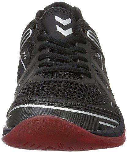 Hummel Omnicourt Z6, Chaussures de Fitness Mixte Adulte Noir (Black)