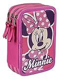 Disney Minnie–Astuccio Triplo Completo (Cerdá 2700–0171)