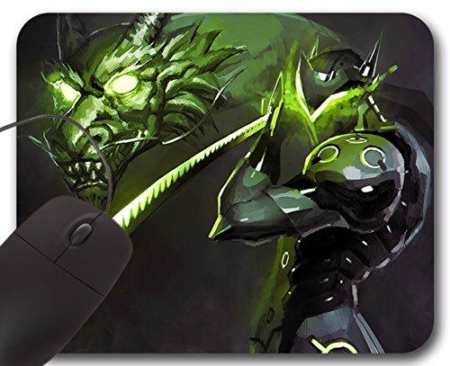 Genji-D-Mauspad-Overwatch