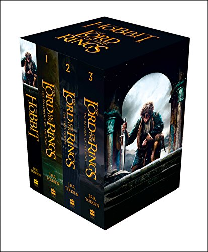 The Hobbit and The Lord of the Rings Boxed Set. Film Tie-In (Box Set of Four Paperbacks) (Roman-buch-taschenbuch-box-set)