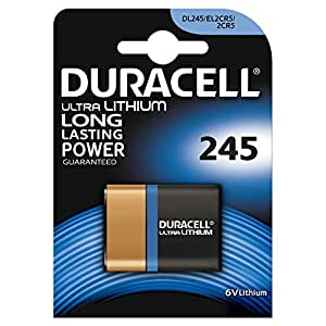 Duracell Specialty Type 245 Ultra Lithium Photo Camera Battery, pack of 1