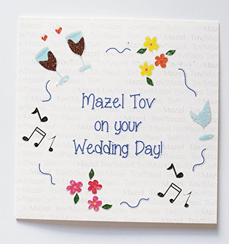 Masel Tov on your wedding day