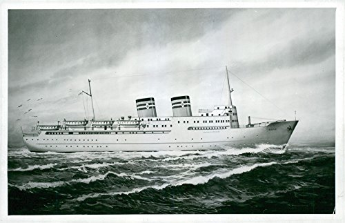 vintage-photo-of-a-painting-of-ss-bore-passenger-launched-in-oskarshamn-bore-lines-belonged-shipping