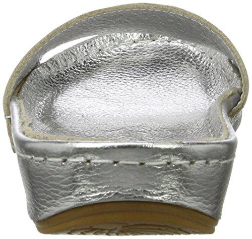 Andrea Conti Damen 0023468 Pantoletten Silber (Silber)
