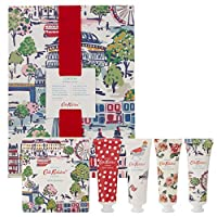 Cath Kidston Beauty London View Bathing Gift Set, 30 ml Body Wash, 30 ml Body Lotion, 30 ml Body Scrub, 30 ml Hand Cream and 200 g Bath Salts