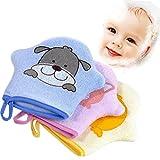 Pro Baby Bad Handschuh Schaumstoff Schwamm Dusche Pinsel Animal Modeling Reiben Handtuch Ball für Baby Kinder Scrub & Wash