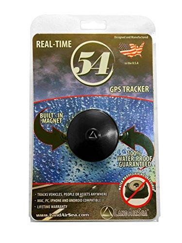 LandAirSea 54 GPS-Tracker, wasserdicht, verdeckt, magnetisch, Echtzeit-Tracker für Privat- oder Firmenfahrzeuge und andere Vermögenswerte