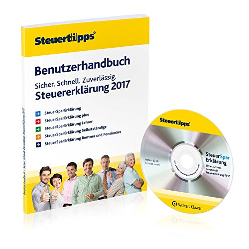 Akademische Arbeitsgemeinschaft SteuerSparErklärung Selbstständige 2018 für Steuerjahr 2017, Standardverpackung