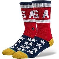 Stance Men's Boss 84 Socks Red L