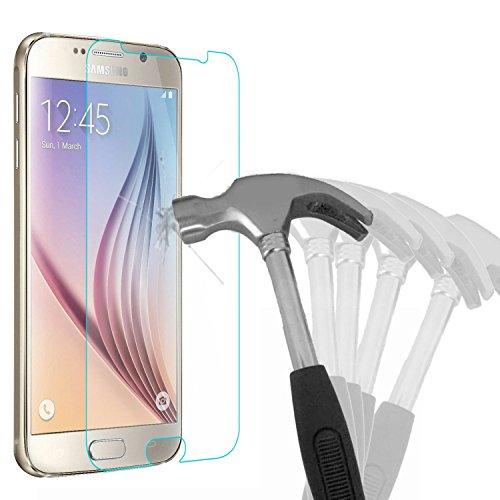 Samsung Galaxy S6 Schutzglas, Bingsale Gehärtetem Glas Schutzfolie Displayschutzfolie Panzerglas für Samsung Galaxy S6 (Samsung Galaxy S6)