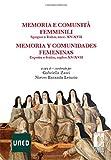 Image de Memoria e comunità femminili: Spagna e Italia, secc. XV-XVII - Memoria y comunidades femeninas. España e Italia, siglo