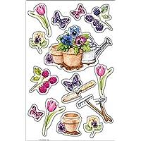 Herlitz 1125935Pegatina flores, 3Arco Pack
