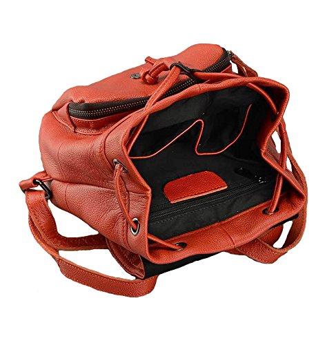 Cczimo ,  Mädchen Damen Rucksackhandtaschen orange