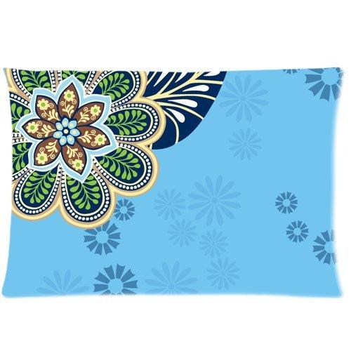 vera-bradley-flower-print-pattern-custom-zippered-pillow-cases-20x30-twin-sides