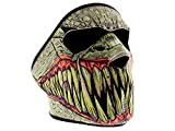 Monster, maschera da biker, per sci, snowboard, paintball; passamontagna in neoprene