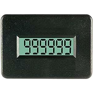 TDE Instruments dpc400-r compteur à impulsions 4.5–60V CA/CC dim. installation 38x 24mm cl