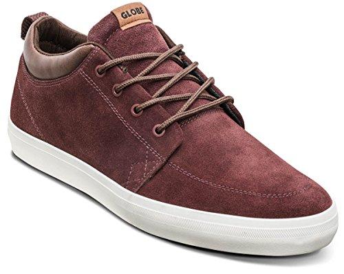Globe Gs Chukka, Chaussures De Skateboard Unisexes - Rouge Adulte / Brun (rhum Raisin / Choc)
