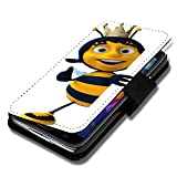 Book Style Flip Handy Tasche Case Schutz Hülle Schale Motiv Etui für Huawei Ascend Y550 - Flip X1 Design11