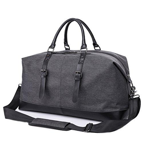 Cornasee große Wasserdichte Reisetasche für Herren,Gepäcktasche Weekender Tasche Seesack Sporttasche mit Riemen 50L