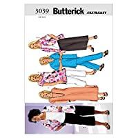 Butterick Ladies Plus Size Sewing Pattern 3039 - Tops, Dress, Skirt & Trousers Sizes: 22W-26W