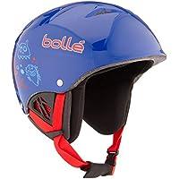 Bollé B-Kid Casco da Sci, Blu, 53-58 cm - Casco Blu