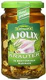 Produkt-Bild: Feinkost Dittmann Ajolix Kräuter - Knoblauchzehen in mediterraner Marinade, 6er Pack (6 x 225 g)