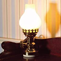 The Dolls House Emporium Table Lamp with Frosted Shade