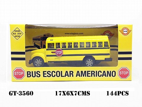 GT-3560 BUS SCOLAIRE AMÉRICAIN