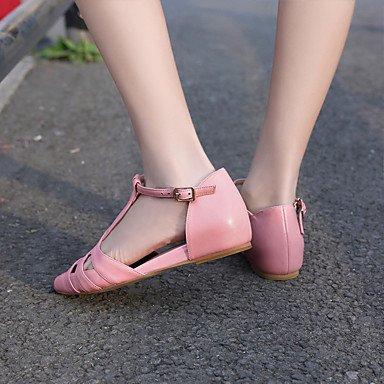 LvYuan sandali delle donne della molla scarpe club estivo fustigano festa all'aperto&sera Pink